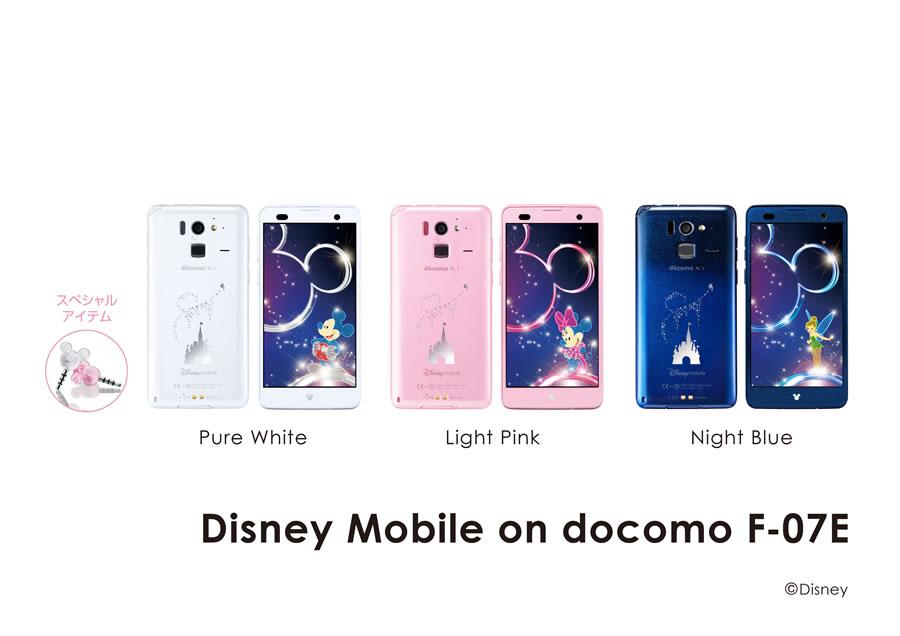 Disney Mobile on docomo F-07E...