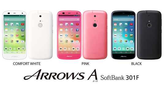 ARROWS A SoftBank 301F