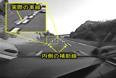 図2 広角カメラ撮影の多重線路例