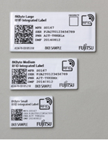 図1.「FUJITSU RFID Integrated Label」